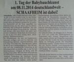 Babybauchkunst2014_Ankuendigung